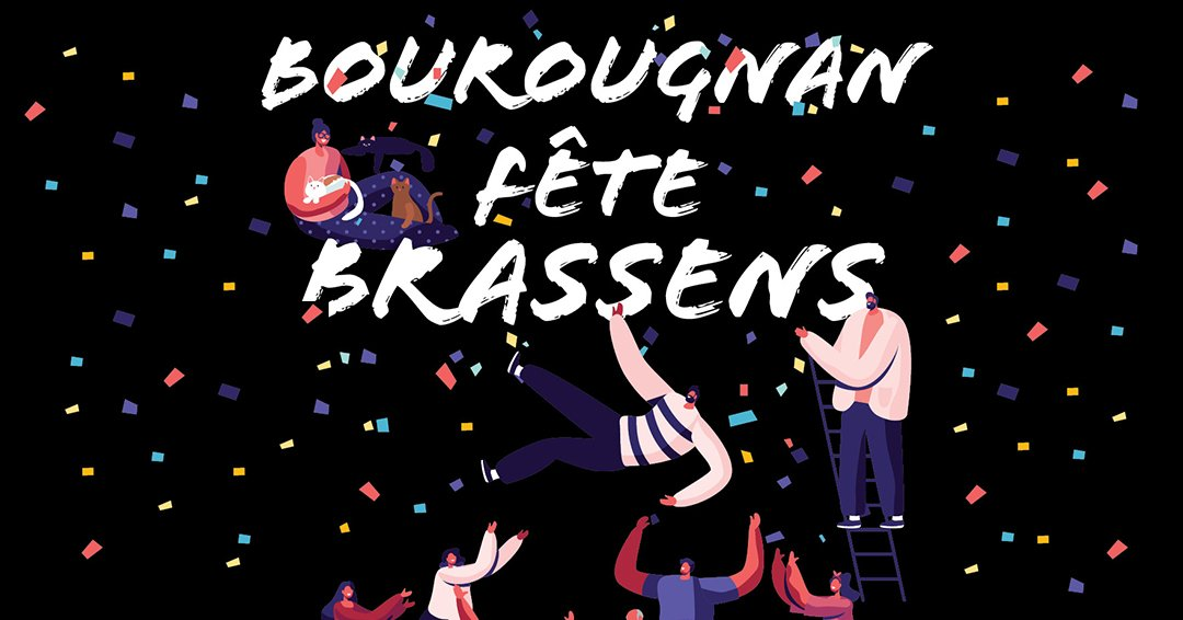 Daniel Villanova __ Bourougnan fête Brassens